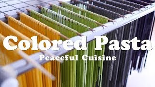Colored Pasta (vegan) ☆ カラフルパスタの作り方