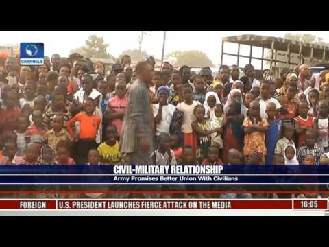 Civil Military Relationship: Army Promises Better Union With Civilians