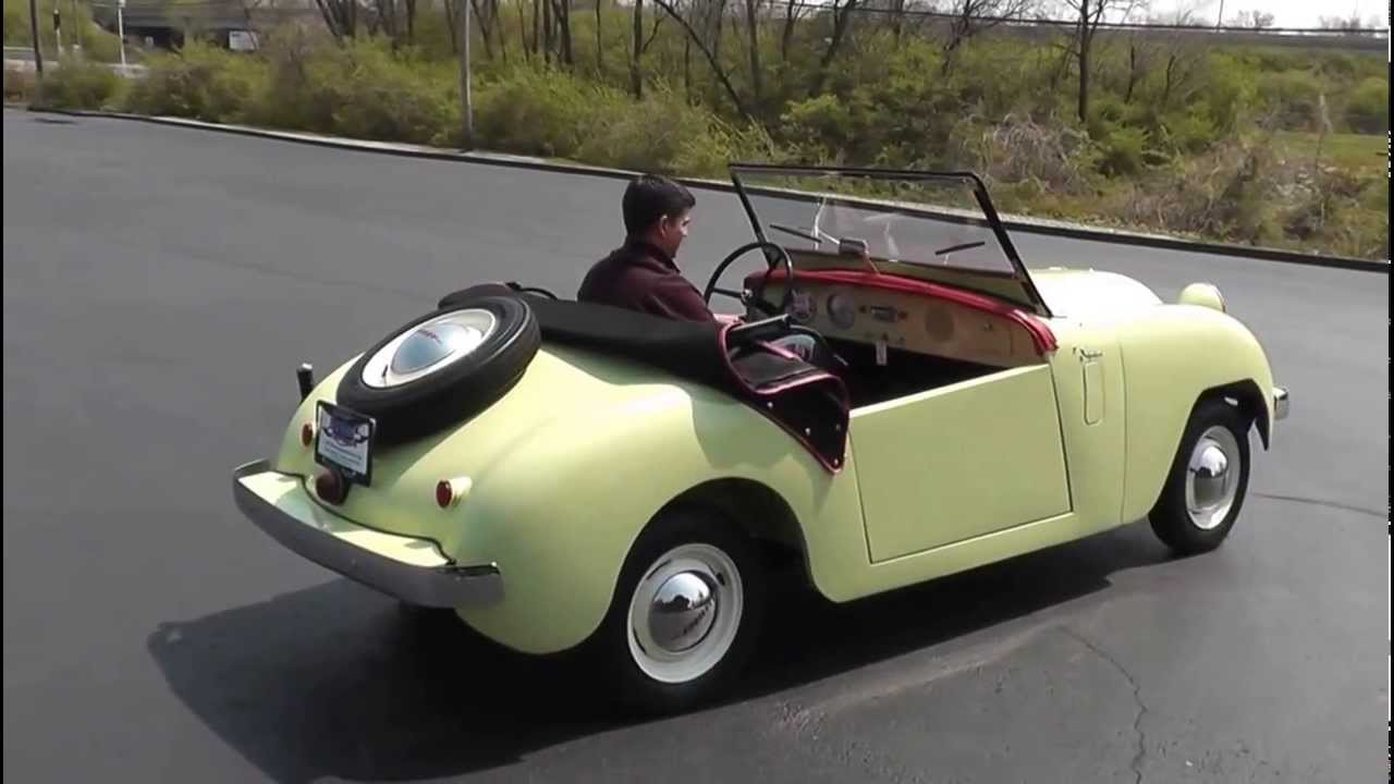 1951 Crosley Hotshot Super Roadster Sold Youtube