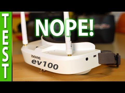 Фото Why you shouldn't buy Eachine EV100 FPV Goggles!