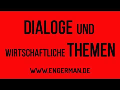 Dialoge und wissenschaftliche Themen | Niveau B2-C1