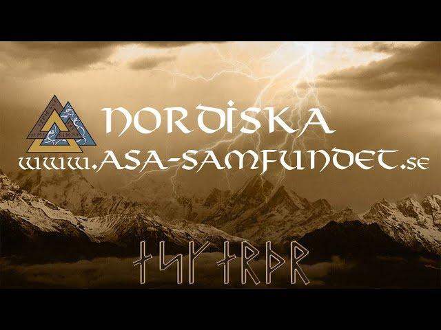 Bröllop midsommar 2017 Nordiska Asa-samfundet