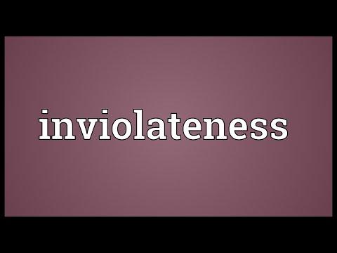 Header of inviolateness