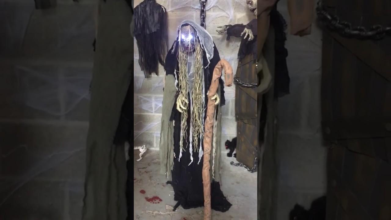 Decoration Sorciere Halloween.Sorcière Horrible Animée Décoration Halloween