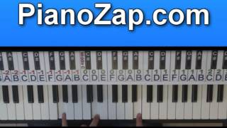 How To Play Dreamin - Youssoupha On Piano Tutorial