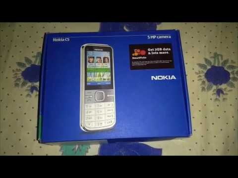 Review of a 5 year old Vintage Nokia C5 5mp mobile