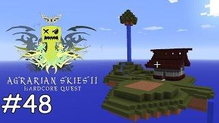 Minecraft Agrarian Skies 2 - E48 - Bienen und Blumen [deutsch]