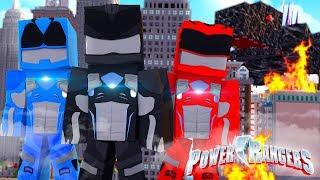 THE POWER RANGERS IN MINECRAFT! (Custom Mod Adventure)