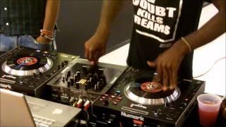 DJ KIDD KOBY & MISS MULATTO @Nike Town in Lennox