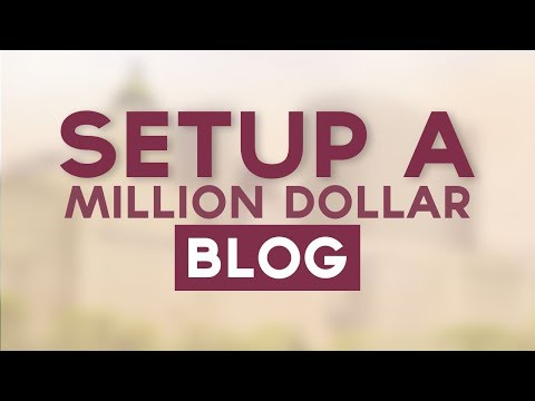How To Start A Million Dollar Blog - Secrets To Blogging