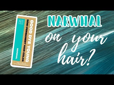 Good Dye Young NARWHAL | Hair Level Swatches