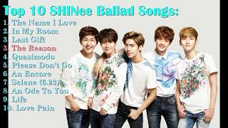 top 10 SHINee Ballad