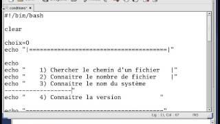 Initiation commande de base linux  IF et CASE 3 - scripts bash débutant (Darija) Maroc