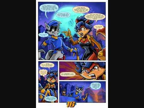Sly Cooper Comic Youtube