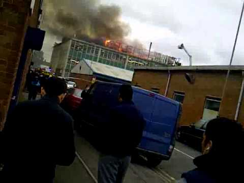 Curzonia Knitwear Factory Fire