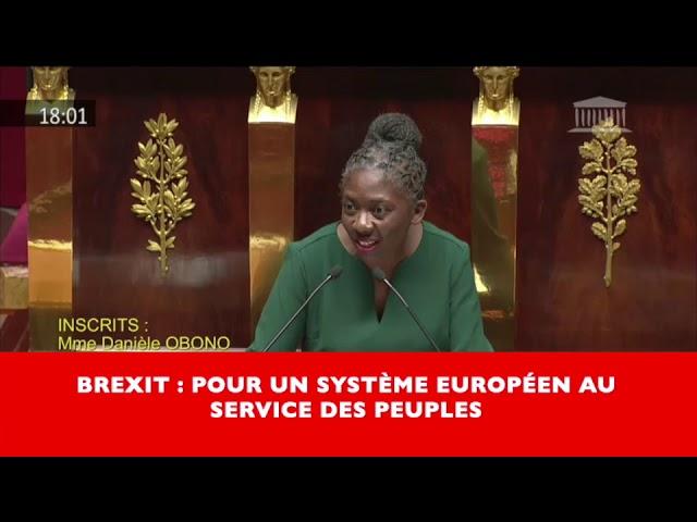 Brexit : pour un modèle européen au service des peuples !