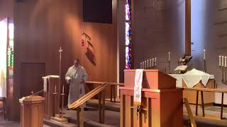 Ascension of Our Lord, Good Shepherd Lutheran Church, LC-MS, Two Rivers, WI, Rev. William Kilps