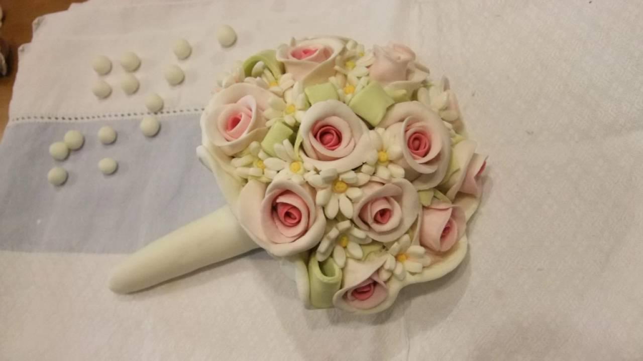 Mazzo Di Fiori Con Pasta Di Zucchero.Fiori In Pasta Di Zucchero Cake Sugar Design Youtube