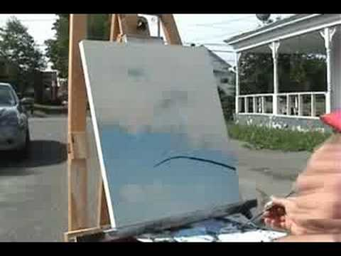 Time Lapse Speed Painting Abstract Landscape Art By Gagnon
