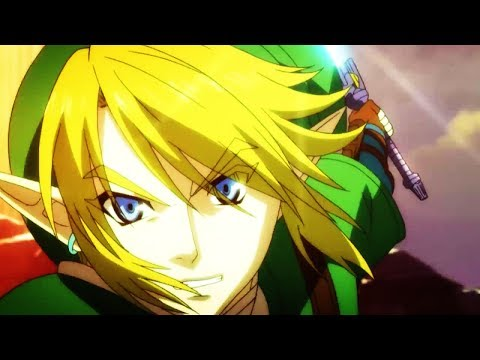 Link vs Pit [ANIME]