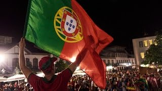 Portugal Campeão Europeu 2016 - Festejos em Angra do Heroísmo by Manuel Bettencourt TV