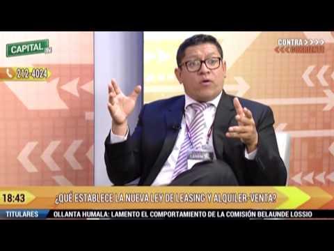 Que establece la nueva ley de leasing y alquiler venta - Mba. José Verona