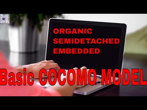 23#Basic cocomo model in software engineering,organic,semidetached,embedded...