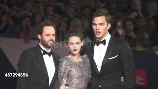 Kristen Stewart with Nicholas Hoult at Venice Film Festival 2015