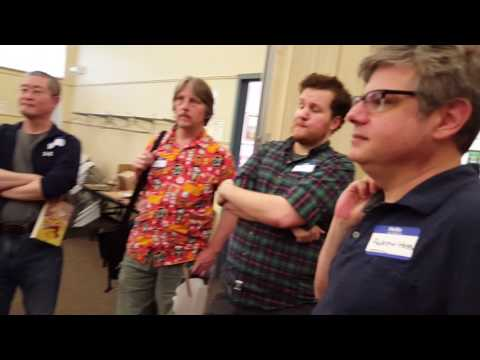 A conversation with Andrew Ferguson at Laffcon1.