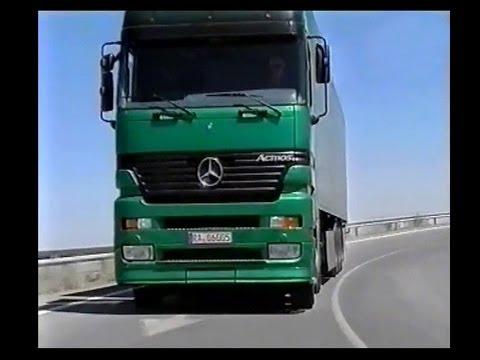 Mercedes Actros Megaspace  (original 1996 video)