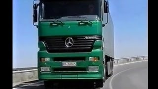 Mercedes Actros Megaspace  (original 1996 video)