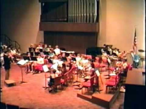 1990 Philippi Middle School Band Concert