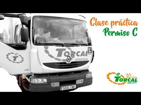 Práctica Para El Permiso C (Camión) Con Torcal Autoescuelas Y Formación
