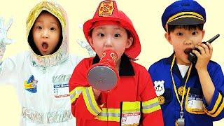 Jobs Career & Professions Song By LoveStar | Nursery rhymes & Kids song