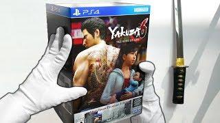 Unboxing YAKUZA 6 PREMIUM EDITION! Collector