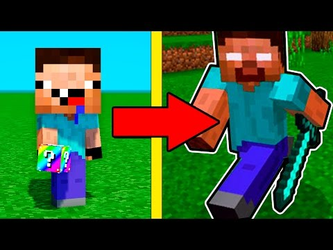 НУБ ПРОТИВ ХИРОБРИН НЕВИДИМКИ В МАЙНКРАФТ ! ТРОЛЛИНГ НУБИКА В MINECRAFT ! Мультик Майнкрафт - Видео из Майнкрафт (Minecraft)