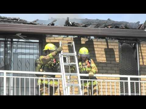Chief Officer at house fire