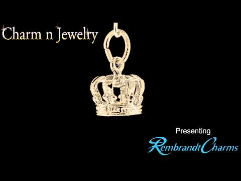 Crown Gold Charm Style 119