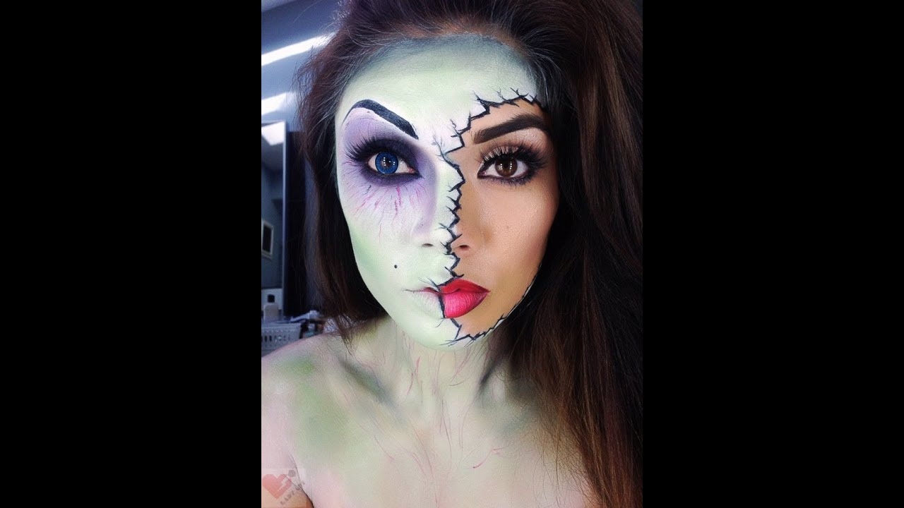 Zombie Halloween Makeup - YouTube
