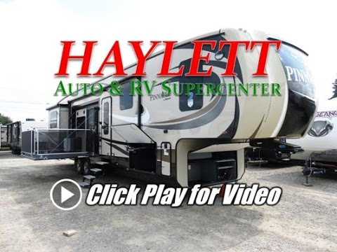 Haylettrv Com 2017 Jayco Pinnacle 39spqs Side Patio Rear Living