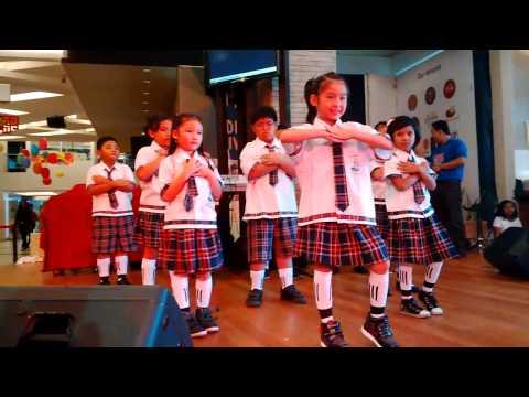 Sekolah Kristen EL SHADDAI Pentas di Living World - Alam Sutra