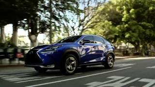 Летающий Lexus NX - японский рекламный ролик