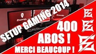 SETUP GalaxySwimming 2014 | 400 Abos ! Merci à vous ! Concours !