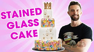 Stained Glass Cake for Kerry Vincent - YOU'VE BEEN DESSERTED