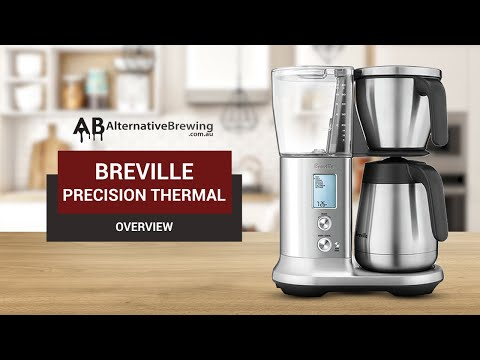 Breville Precision Automatic Coffee Brewer Overview Youtube