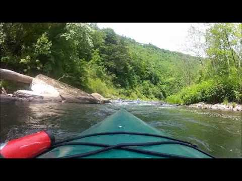 Kayaking Pine Creek Memorial Day 2012