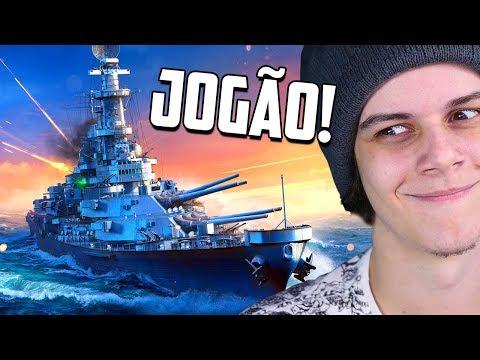 JOGO BOM E DE GRAÇA... Que Sou MUITO Ruim! - World Of Warships