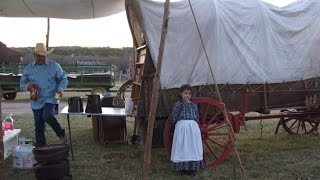 Living in the 1800's - our time at Pioneer Farms