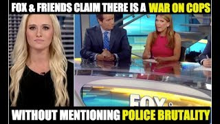 Fox & Friends 'War On Cops' Hypocrisy EXPOSED thumbnail