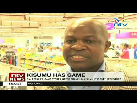 South African Retailer, Game Stores, Opens A Branch In Kisumu